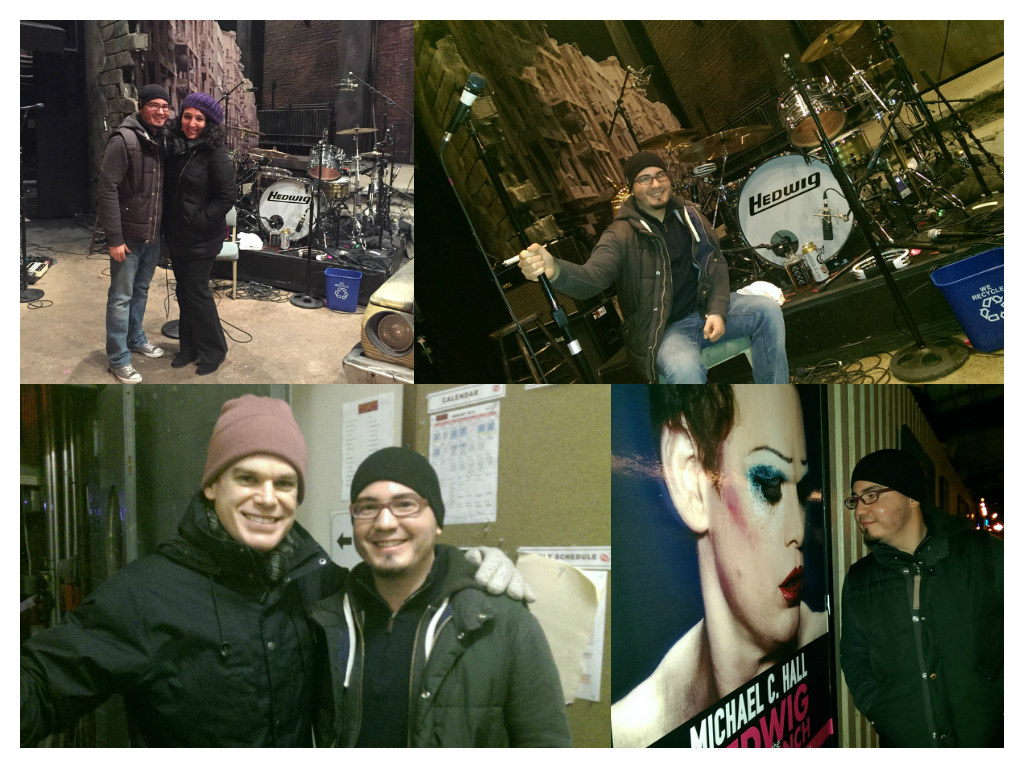 Michael C. Hall Yoga Hedwig and the Angry Inch Broadway NYC Vicyasa Victor Cotto Dexter Morgan playbill Showtime vinyasa backstage