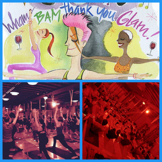 Yoga House Party NYC The Yoga Room Workout Factory Vicyasa Victor Cotto Dina Ivas