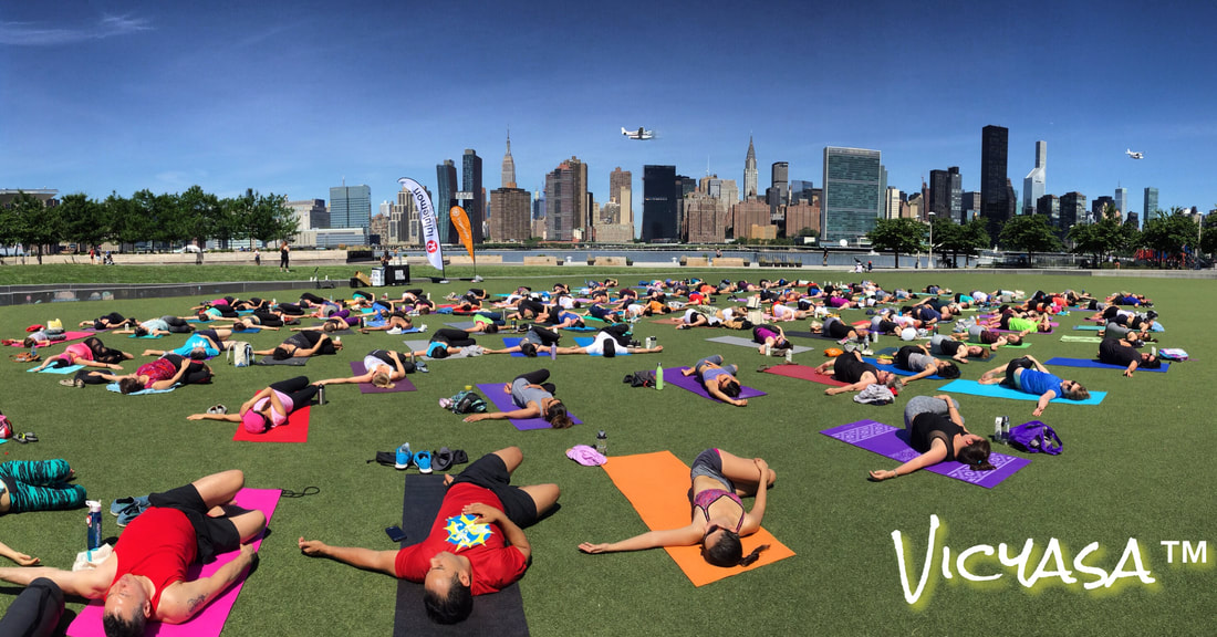Victor Cotto Vicyasa The Yoga Room Lululemon Free Summer New York City Events NYC LIC Long Island City